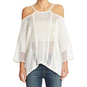 Free People Echo Pullover Small Poncho Top